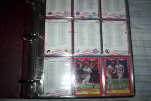 1988 Fleer Baseball set 1-660 cards mint with sticker cards