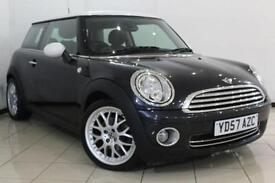2007 57 MINI HATCH COOPER 1.6 COOPER 3DR CHILI PACK 118 BHP