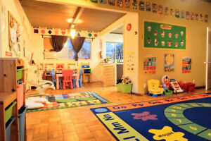 Profitable and established daycare for sale in a strip mall.