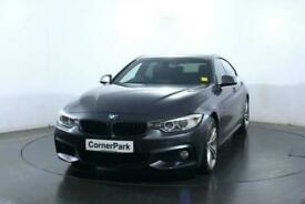 2016 BMW 4 SERIES GRAN COUPE 2.0 420D M SPORT GRAN COUPE 4d 188 BHP Coupe Diesel
