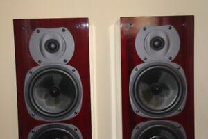 haut-parleurs,speakers QUAD 22L2    3 VOIES