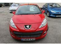 Fantastic Condition Peugeot 207 Convertible - 1 Previous Owner, 2 Keys