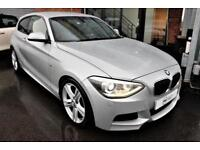 2014 14 BMW 1 SERIES 2.0 118D M SPORT 3D 141 BHP DIESEL