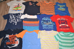 Boys Size 4 t-shirts - Osh Kosh, Carters, Joe, EUC