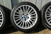 Genuine BMW style 160 wheels + BF Goodrich RFT tires
