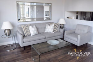 902 - Furnished & Modern Two Bedroom Apartment Downtown