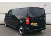 2021 Vauxhall Vivaro L1 2700 1.5d 100PS Sportive H1 Manual Van Diesel Manual