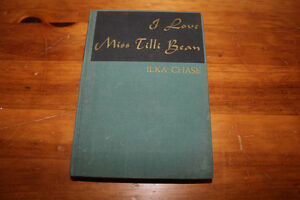 I Love Miss Tilli Bean by Ilka Chase 1946 London Ontario image 1