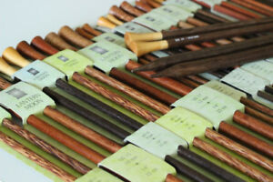 Lantern Moon Wood Wooden Knitting Needles: Rosewood, Ebony, etc.
