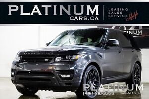 2015 Land Rover Range Rover Sport SUPERCHARGED/ NAVIGATION/ PANO