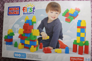 ****[New never open box] Mega Bloks - First Builder 100 piece**