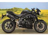 Triumph Speed Triple 94R 2010**OHLINS ADJUSTABLE SUSPENSION, BREMBO BRAKES**