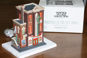 Christmas in the city series (the heritage village collection)