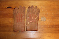 Antique Child's Leather Gloves