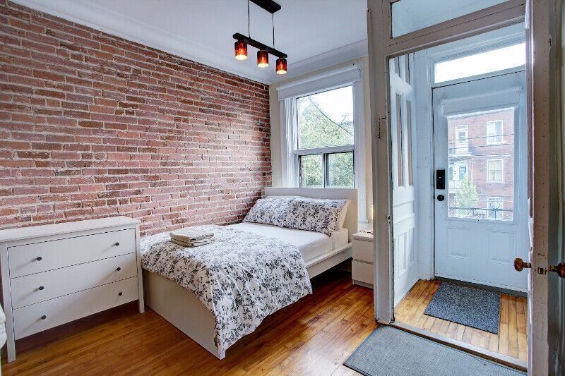 Nice apartment for short time rental in mile end Montreal ...