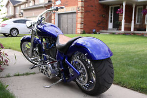 2005 Custom softail chopper.