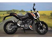 KTM Duke 125 **One Owner from New, ABS, Learner Legal**