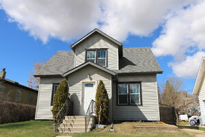 Character Home Close to Schools Lacombe, $217,000