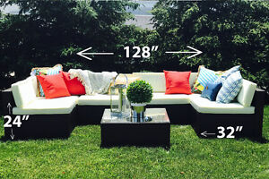 PATIO furniture wicker set, HALF the PRICE than everyone else!
