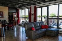 Grand loft à louer, 1076$/mois