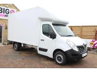 2016 RENAULT MASTER LL35 DCI 125 BUSINESS LWB LUTON WITH TAIL LIFT LUTON DIESEL