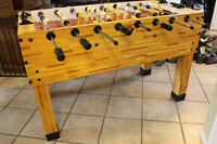 "Imperial Premier Butcher Block 55 inch or 2'8"" Foosball Table"
