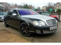 2005 55 BENTLEY CONTINENTAL FLYING SPUR 6.0 FLYING SPUR 5 SEATS 4D 550 BHP
