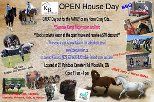 Tack Sale and Open House Day at KB Equestrian