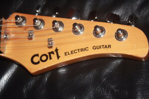 electric guitar CORT