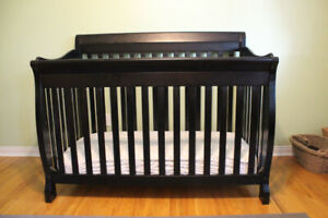 Used Crib and Change Table Set (+Toddler/Double Bed Extensions)