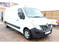 2014 RENAULT MASTER LM35 DCI 125 L3 H2 BUSINESS PLUS LWB MEDIUM ROOF VAN LWB DIE