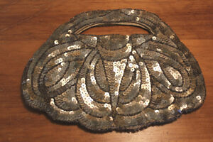 Old Sequin Hand Bag - France London Ontario image 2