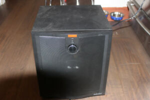 BW Solid Active Subwoofer Powerbass System