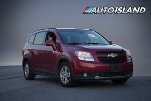 2012 Chevrolet Orlando 2.4L, GAS SAVER, 7 PASSENGER, SUNROOF, PO