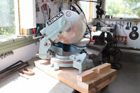 Radial arm saw (Delta) 10 inches