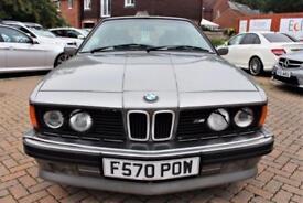 1988 BMW 6 SERIES 3.5 M635CSI 2D 286 BHP FULL SERVICE 28 STAMPS!!!!