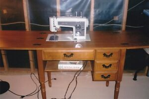 Kenmore sewing machine and maple cabinet Peterborough Peterborough Area image 1