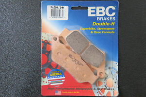EDC Brake Pads (Front / Rear) for Triumph Thunderbird / Storm Gatineau Ottawa / Gatineau Area image 2