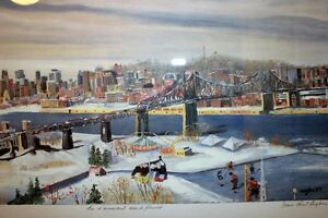 Lithograph by Jean Paul Langlois Signed by the Artist!!!!! West Island Greater Montréal image 5