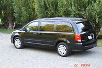 2014 Dodge Grand Caravan LE Minivan,3.6L 283hp,6sp,Black Beauty!