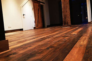 Plancher style antique / Rustic Flooring