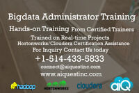 Bigdata Administrator Training - Register Your Spot Today,Hurry!