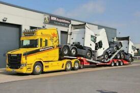 2021 KASSBOHRER Trailer Tri Axle Extendable Rear Steer Truck Transporter