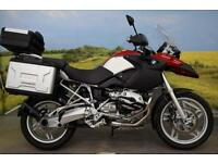 BMW R1200GS **BMW Panniers, BMW Top Box, ABS**