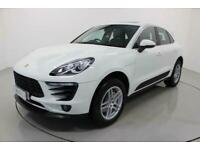 2015 Porsche Macan 3.0 S PDK 5d AUTO-1 OWNER FROM NEW-HALF LEATHER-18 inch ALLOY