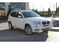 2012 12 BMW X3 2.0 XDRIVE20D SE 5D AUTO 181 BHP DIESEL 4X4 FOUR WHEEL DRIVE