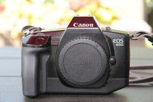 Boîtier argentique, Canon EOS 650