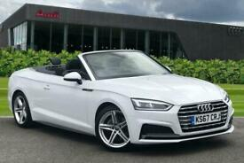 image for 2018 Audi A5 Cabriolet S line 2.0 TDI  190 PS S tronic Semi Auto Convertible Die