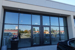 Retail space for rent on Hunt Club road next to OTTO's BMW