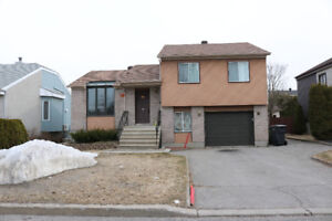 Beautiful bungalow  for rent in boisbriand